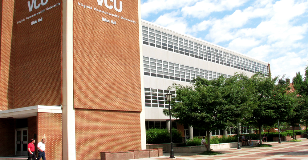 Commonwealth Blinds & Shades project at VCU Hibbs Building
