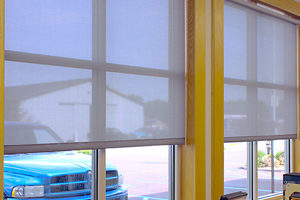 Draper window treatments from Commonwealth Blinds & Shades