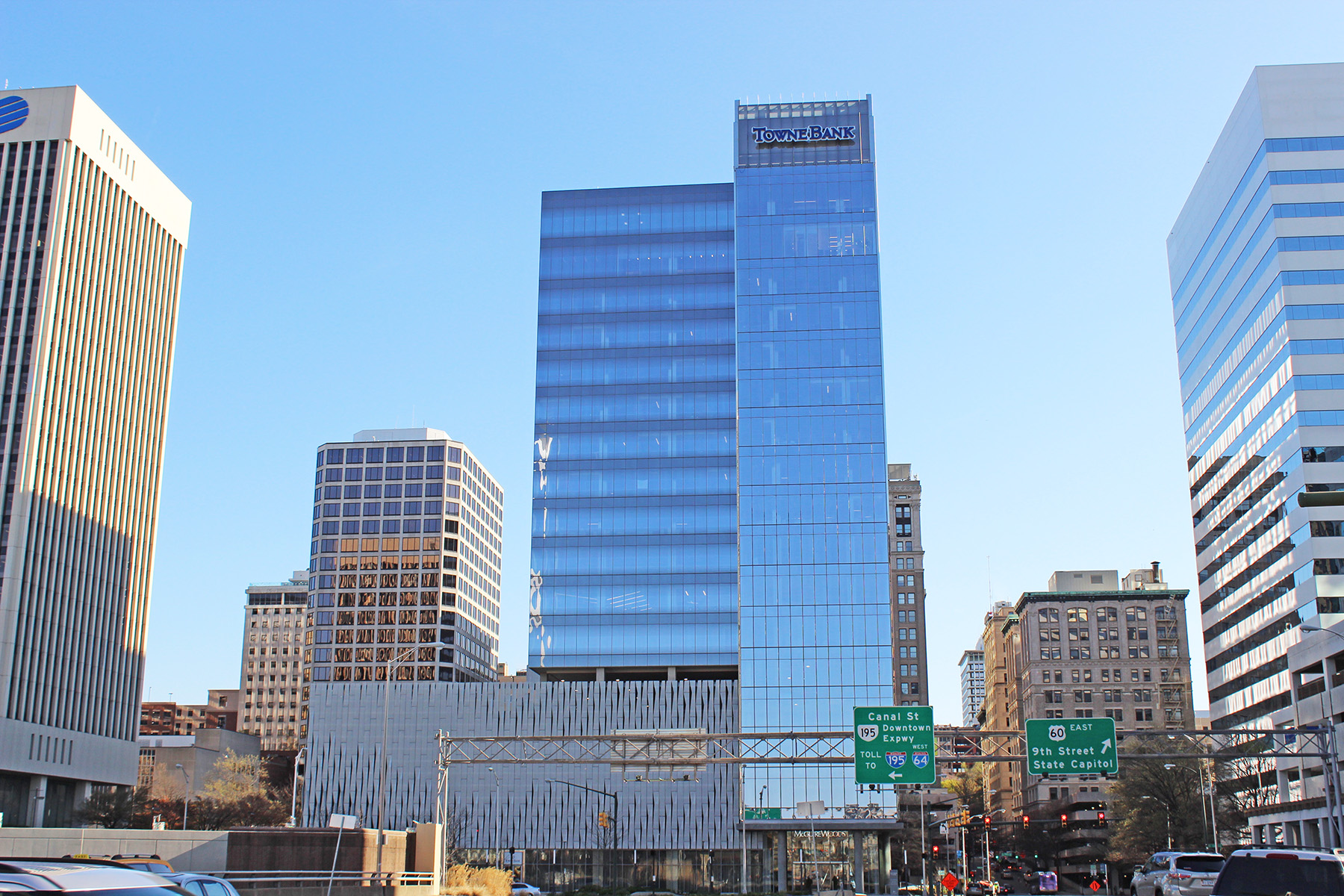 Gateway Plaza project from Commonwealth Blinds