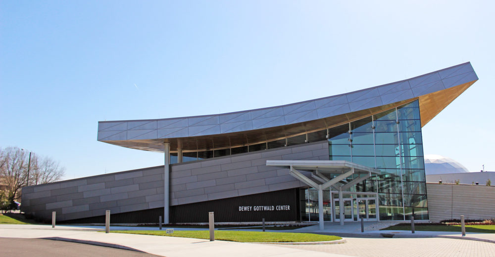 Science Museum of Virginia project from Commonwealth Blinds