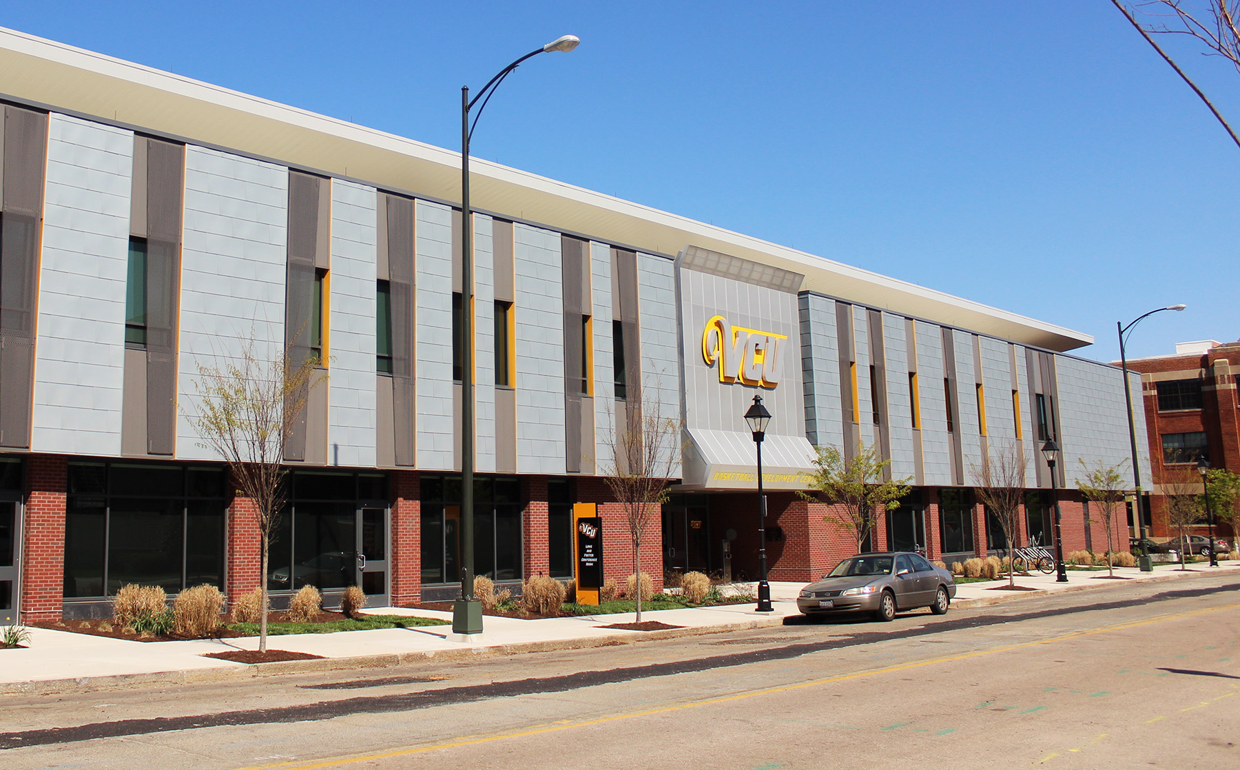 VCU Basketball Training Facility project from Commonwealth Blinds
