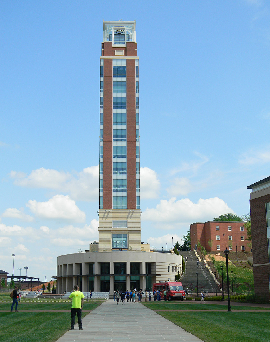 Commonwealth Blinds & Shades project: Liberty University Freedom Tower